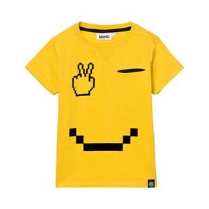 Molo Boys Tops Yellow Renton T-Shirt Pacman