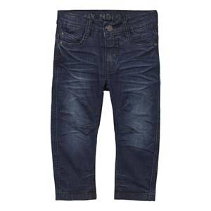 Molo Boys Bottoms Blue Alonso Pants Deep Dusty Blue