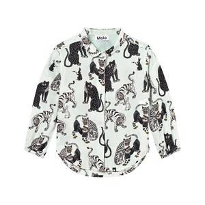 Molo Unisex Jumpers and knitwear Multi Rachael Shirt Korean Tigers