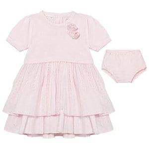Emile et Rose Girls Dresses Pink Kesia Pale Pink Dress with Knickers