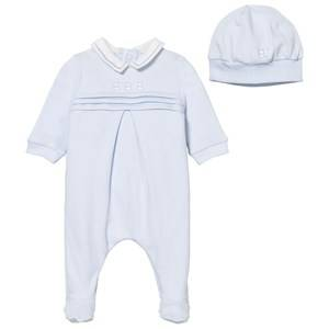 Emile et Rose Boys All in ones Blue Pale Blue Kieran Footed Baby Body