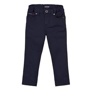 Tommy Hilfiger Boys Bottoms Navy Navy Scanton Skinny 5 Pocket Trousers