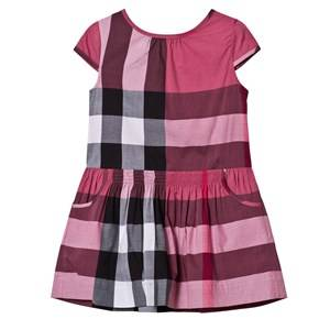 Burberry Girls Dresses Pink Pink Classic Check Dress
