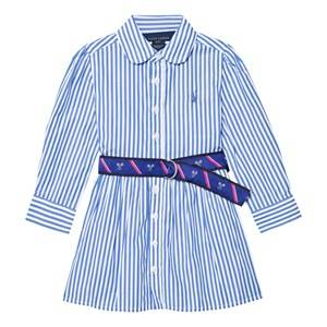 Ralph Lauren Girls Dresses Striped Cotton Shirt Dress