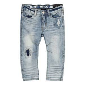 Molo Boys Bottoms Blue Alonso Jeans Vintage Denim