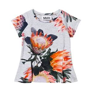 Molo Girls Tops Multi Robbin T-Shirt Sugar Flowers