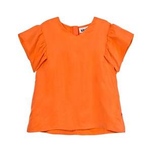 Molo Girls Tops Orange Ramsi Blouse Bird Of Paradise