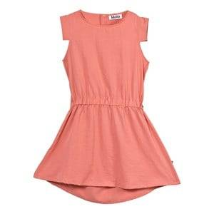 Molo Girls Dresses Pink Chrisette Dress Spicy Pink