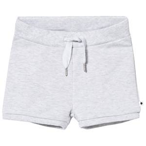 Molo Girls Shorts Grey Alma Shorts Snow Melange