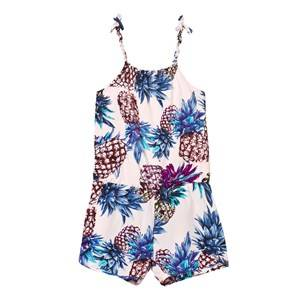 Molo Girls All in ones Multi Amberly Romper Pineapple