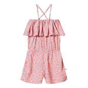 Molo Girls All in ones Pink Angelina Romper Pink Star