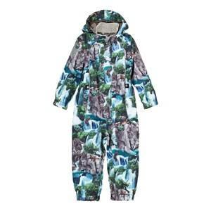 Molo Unisex Coveralls Multi Polly Summer Coverall Waterfall