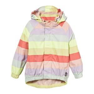 Molo Girls Coats and jackets Multi Waiton Rain Jacket Girly Rainbow