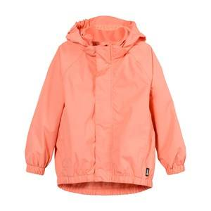 Molo Girls Coats and jackets Orange Waiton Rain Jacket Desert Flower