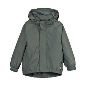 Molo Unisex Coats and jackets Green Waiton Rain Jacket Metal Green Melange