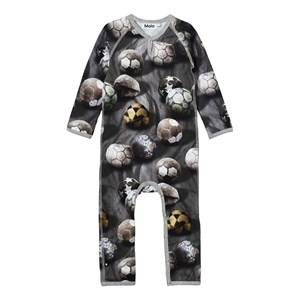 Molo Boys All in ones Grey Fleming One-Piece Dusty Soccer