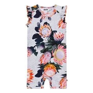 Molo Girls All in ones Pink Faris Romper Sugar Flowers