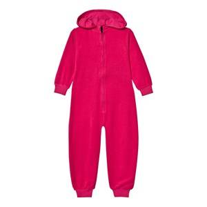 The BRAND Girls All in ones Pink Cotton Terry Onesie Pink