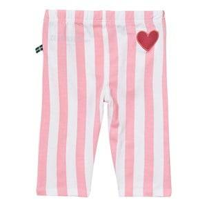 The BRAND Girls Private Label Bottoms Pink Summer Tights Pink Stripe