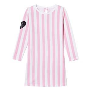 The BRAND Girls Dresses Pink Tee Dress Pink Stripe