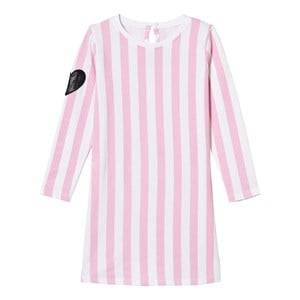 The BRAND Girls Private Label Dresses Pink Tee Dress Pink Stripe