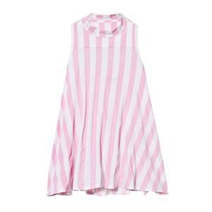 The BRAND Girls Private Label Dresses Pink Turtle Dress Pink Stripe