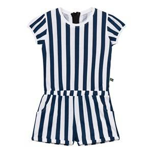 The BRAND Unisex Private Label All in ones Blue Jumpsuit Summer Blue Stripe