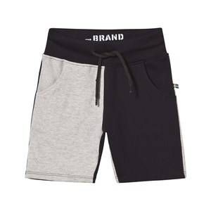 The BRAND Boys Shorts Multi Block Jonta Shorts Peach/Grey Mel/Black