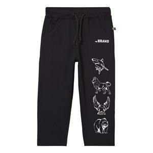 The BRAND Boys Bottoms Black Animal Sweatpants Black