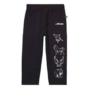 The BRAND Boys Private Label Bottoms Black Animal Sweatpants Black