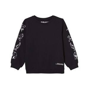 The BRAND Boys Private Label Jumpers and knitwear Black Animal Sweater Black
