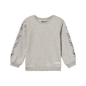 The BRAND Boys Private Label Jumpers and knitwear Grey Animal Sweater Grey Melange