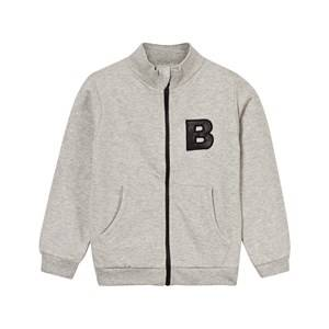 The BRAND Unisex Private Label Jumpers and knitwear Grey Eagle Hood Grey Melange