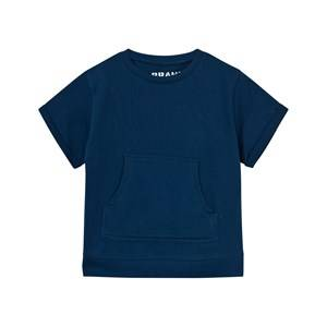 The BRAND Unisex Tops Blue Raw Tee Hood Blue