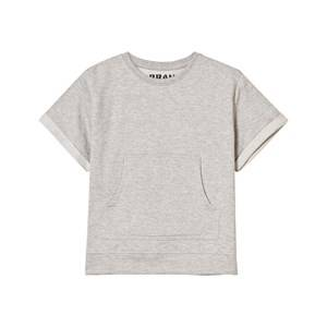 The BRAND Unisex Private Label Tops Grey Raw Tee Grey Melange