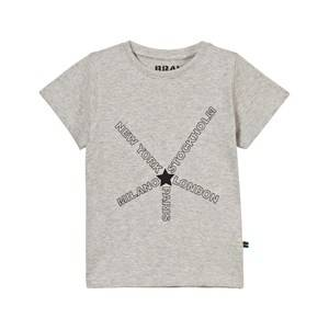 The BRAND Unisex Private Label Tops Grey City Tee Grey Melange