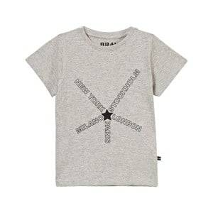 The BRAND Unisex Tops Grey City Tee Grey Melange