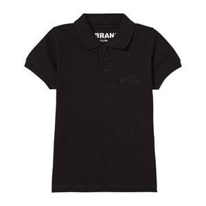 The BRAND Unisex Private Label Tops Black Pique Patch Black