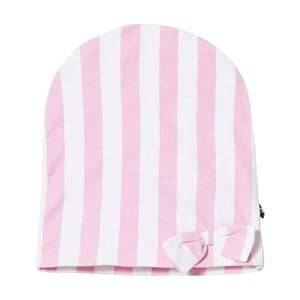 The BRAND Unisex Private Label Headwear Pink Bow Hat Pink Stripe