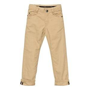 Boss Boys Bottoms Beige Stone Chinos