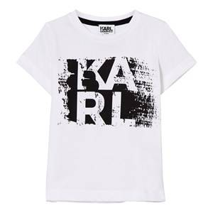 Karl Lagerfeld Kids Boys Tops White White Karl Branded Tee