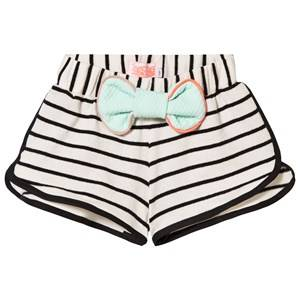 BANG BANG Copenhagen Girls Shorts White Sonja Shorts White and Black Stripe