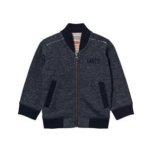 Levis Kids Boys Jumpers and knitwear Navy Navy Marl Zip Thru Logo Sweatshirt