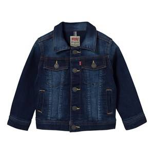 Levis Kids Girls Coats and jackets Blue Mid Wash Jog Jean Jacket
