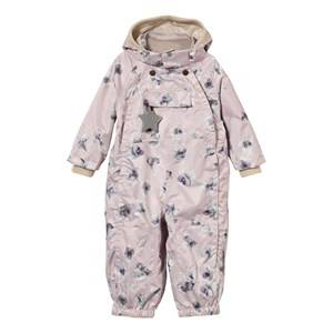Mini A Ture Girls Coveralls Pink Wisto M Coverall Violet Ice