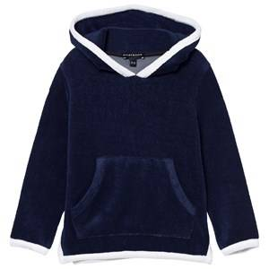 Heidi Klein Boys Jumpers and knitwear Navy Navy Joe Long Sleeve Hoodie