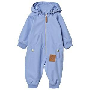 Mini Rodini Unisex Coveralls Blue Pico Coverall Light Blue