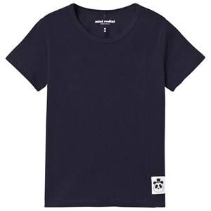 Mini Rodini Unisex Tops Navy Basic Tee Navy