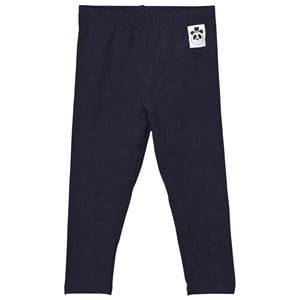 Mini Rodini Unisex Bottoms Navy Basic Leggings Navy