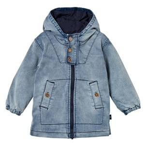 Hust&Claire; Boys Coats and jackets Blue Denim-Look Jacket Denim